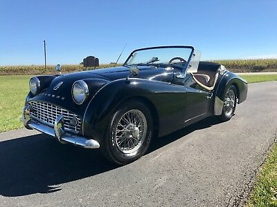 1960 Triumph TR3 TR3A with VIDEO Convertible Restored 1960 Triumph TR3A Tr3 BEST OFFER convertible restored 1957 1958 1959  w/ Video