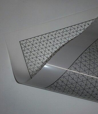 A4 Premium Drawing/Sketching Aids: Cabinet 3D projection grids and ellipses