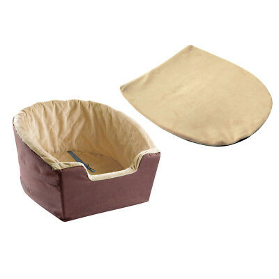 Deluxe Bucket Booster Car Seat - Sized for Small Dogs and Puppies