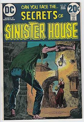 Secrets Of Sinister House #10 Vf/nm 9