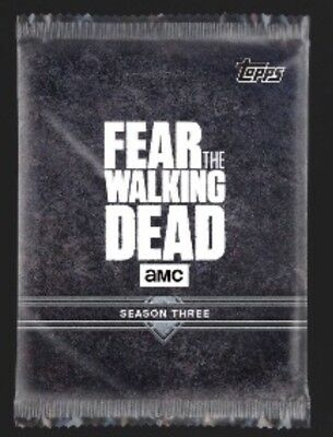 Season 3-Fear 301-308 Red+Blue Set-104 Cards-Topps Walking Dead Card Trader