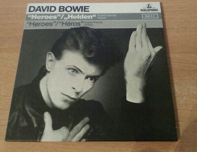 """David Bowie """"HEROES"""" EP CD from A New Career In A New Town Box Set"""