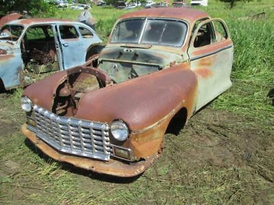 48 DODGE BUSINESS COUPE 1948 drivers front manual window regulator