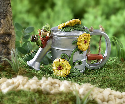 My Fairy Gardens Mini - Mini Watering Can House - Supplies Accessories