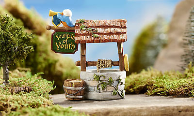 Miniature Dollhouse FAIRY GARDEN - Fountain of Youth Wishing Well - Accessories