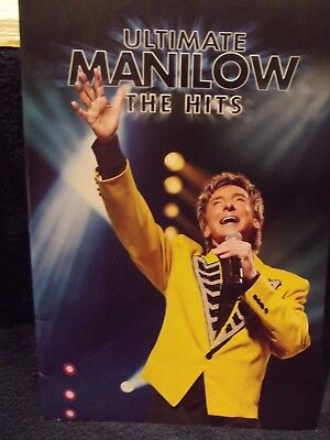 BARRY MANILOW 2008 THE HITS TOUR CONCERT PROGRAM BOOK Super Cool