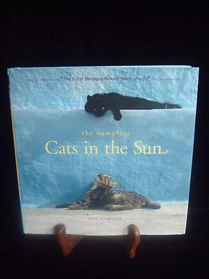 """Nice~Coffee Table Photo Book~""""THE COMPLETE CATS IN THE SUN""""~416 Pg Hardcover~EUC"""