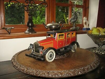 Gunthermann Limousine 1920/30 Very Rare Large Tinplate Car Tin Toy Blech Germany