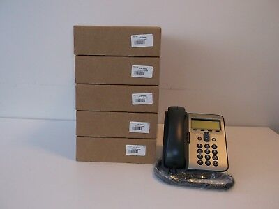 Lot of 5 Cisco Unified IP Phone 7906G (CP-7906G)