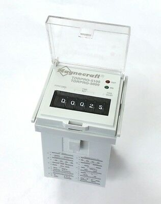 NEW Magnecraft TDRPRO-5100 DPDT 10 Function Programmable Timer Relay 12A