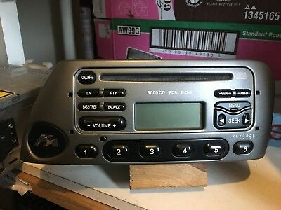 Ford Ka  Cd Rds Car Stereo Radio Cd Player With Code Warm