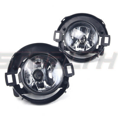 Stealth Fog Light Kit Pair LH RH for 2005-2017 Nissan Xterra Frontier - Clear