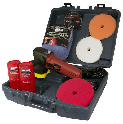 Mothers Wax Attack Professional Polisher Kit 65Waxpro - Car Care Product