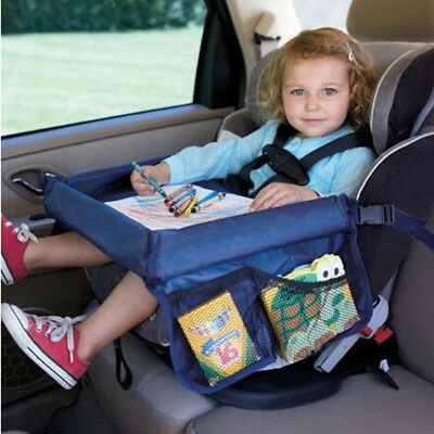 Waterproof table Car Seat Tray Storage Kids Toy Infant Holder Seats for Children