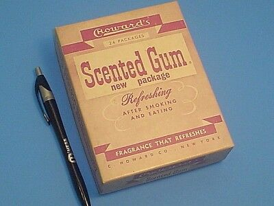 Vintage C. Howard Co. Scented Gum Box