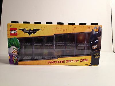 Lego Batman the Movie Minifigure Black Large Display Case - Limited Supply! 4066