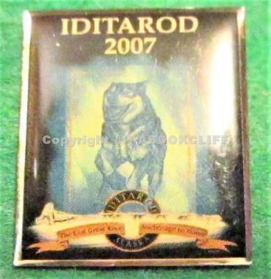 2007 IDITAROD ANCHORAGE TO NOME 1151 Mile DOG SLED RACE Lapel Pin Mint