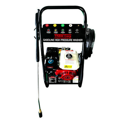 NEW High Pressure Washer 4000 psi 8 HP Petrol 20M Water Hose 5 Nozzles 2 Wands