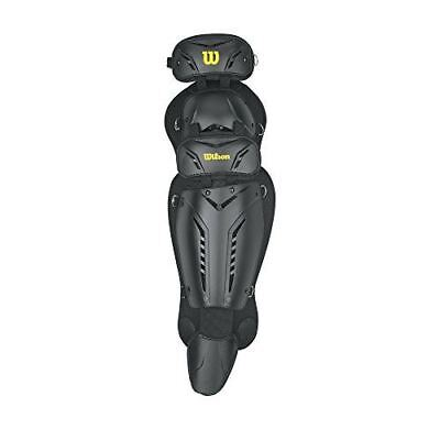 Wilson Guardian Umpire's Leg Guards, 17-Inch