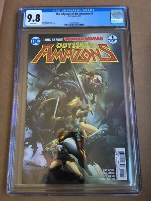 ODYSSEY OF THE AMAZONS #1 (2017) CGC 9.8 Wonder Woman