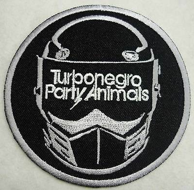 TURBONEGRO Party Animals embro patch grey Turbojugend Black Flag Turbonegra