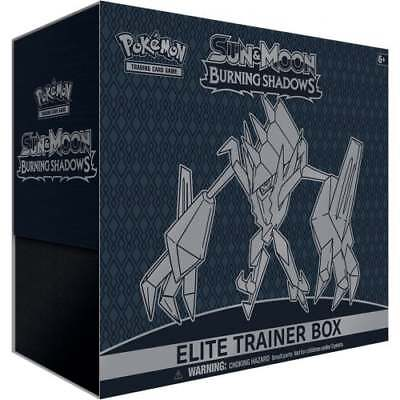 POKEMON SUN & MOON—BURNING SHADOWS * Elite Trainer Box