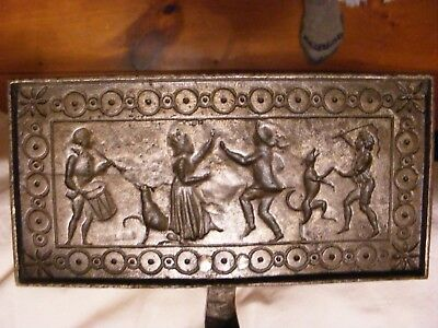 Circa 1700's Wafer Iron , Unbelievable & Beautiful , cast & wrought iron