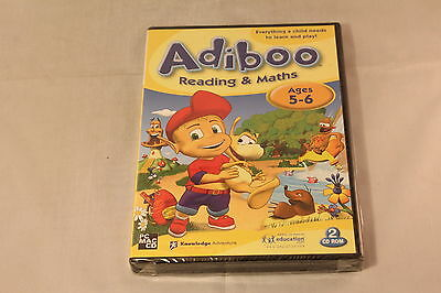 Adiboo Reading and Maths Ages 5-6 PC Game