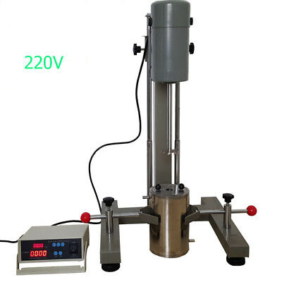 FS-400D  Lab Digital Display High-speed Disperser Homogenizer Mixer 220v