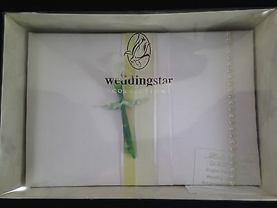 New In Box - Calla Lilly Guest Book - Weddingstar Collection