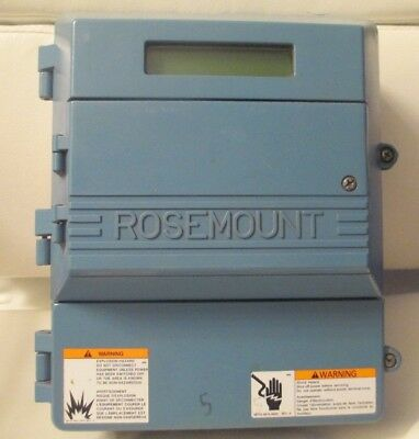 Rosemount 8712C Smart Family Magnetic Flow Transmitter  SUPER NICE !!