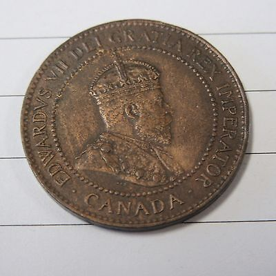 1905  Large Cent Canada Coin