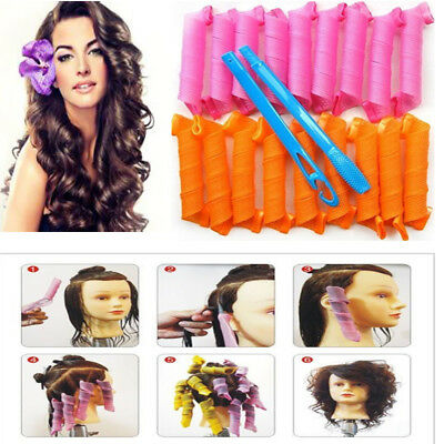 Magic Circle 20-55cm Hair Rollers DIY Hair Curlers Twist Spriral Styling Tools