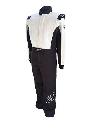 Zamp ZR-30 Multi-Layer Race Suit (3 Layers) - All Sizes, Black - SFI 3.2A/5
