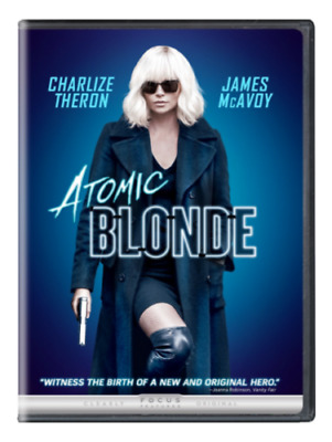 Atomic Blonde: NEW [DVD,  2017]- Action-PRE-ORDER SHIPS ON  11-14-17
