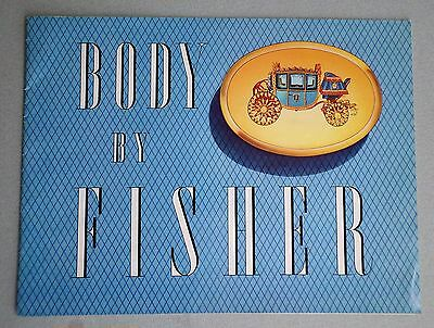 BODY by FISHER, General Motors 1956 Cars and others, Booklet