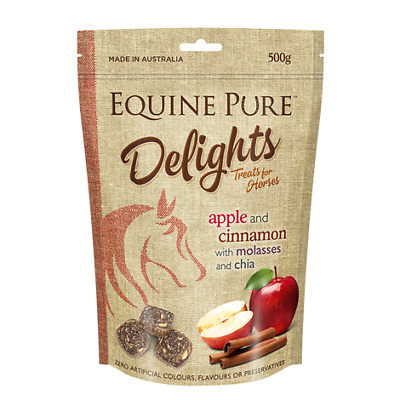 Equine Pure Delights Apple and Cinnamon Treats
