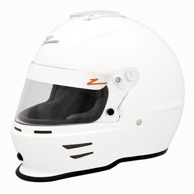 Zamp RZ-42Y Youth Helmet - All Sizes (52-57cm), Black or White - Snell CMR 2016