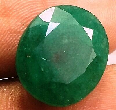 6.28 CT Colombian Emerald Natural GIE Certified Best Quality Beautiful Gems