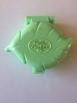 Polly Pocket 1991 Polly's Earring Case Vintage Bluebird COMPLETE