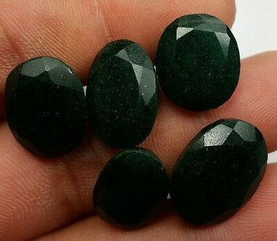 56.35 CT 5 Pcs Jade 100% Natural 17x13x7mm High Quality Wholesale Lot Gem W110