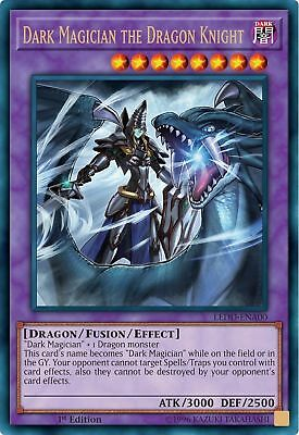 ( DARK MAGICIAN THE DRAGON KNIGHT ) - Ultra - LEDD-ENA00 - 1st - NM - Yu-Gi-Oh