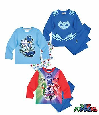 official pj masks  2 piece sleepwear 3-8 YEARS free 2nd class post boys