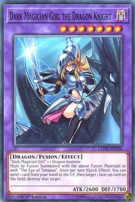 (DARK MAGICIAN GIRL THE DRAGON KNIGHT) Common - LEDD-ENA36 - 1st - NM - Yu-Gi-Oh