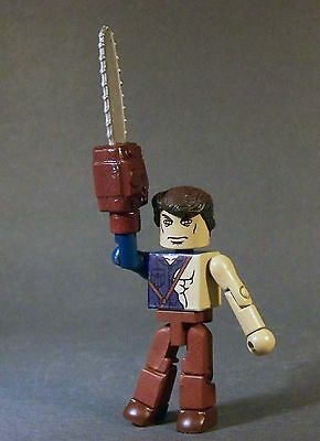 Custom minimate of  ASH  from   Army of Darkness  Evil Dead  Bruce Campbell