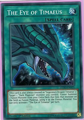 ( THE EYE OF TIMAEUS ) Common LEDD-ENA21 - 1st - NM - Yu-Gi-Oh Legendary Dragon