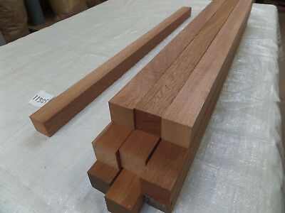 Mahogany hardwood timber 93cm x 45mm x 45mm planed legs blanks turning chocks