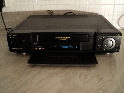 "SONY SLV-F900 VHS VCR Video recorder player, SMART ENGINE, """" FULLY WORKING"""""