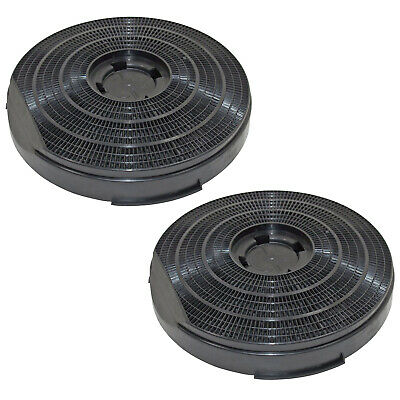 Carbon Filter for AEG 340D 340DWGR Type 34 Cooker Hood Extractor Vent  x2
