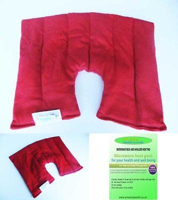 Amazing Health Infused Microwave Neck And Shoulder Heat Pad Unscented
